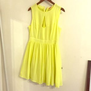 Wonderland dress by Oasis neon
